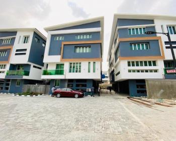 4 Bedroom Duplex with a Room Bq in a Secured Estate, Richmond Estate, Lekki Phase 1, Lekki, Lagos, Semi-detached Duplex for Rent