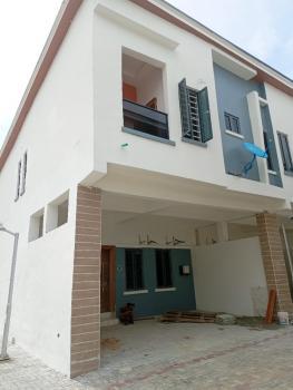Luxury and Newly Built Serviced 4 Bedroom, Chevron, Lekki Phase 1, Lekki, Lagos, Terraced Duplex for Rent