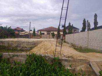 Massive Located Half Plot of Land 60by60, in a Choice Location, United Estate, Sangotedo, Ajah, Lagos, Residential Land for Sale