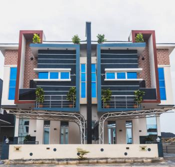 Smart Fully Serviced 4 Bedroom Semi-detached Duplex with a Room Bq, Orchid Hotel Road, Second Tollgate, Lafiaji, Lekki, Lagos, Semi-detached Duplex for Rent