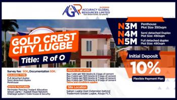 Land, Gold Crest City Estate, Von Road, Sabon Lugbe, Lugbe District, Abuja, Residential Land for Sale