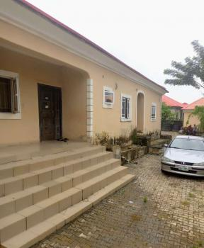 3 Bedrooms Detached Bungalow with 2 Units 1 Bedroom, Beside Peace Court Estate, Lokogoma District, Abuja, Detached Bungalow for Sale