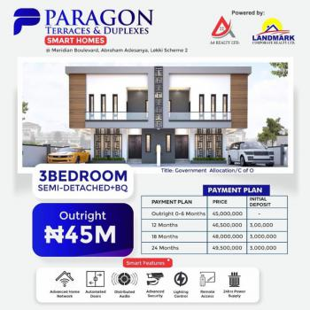 Paragon Luxury and Smart Home, Abraham Adesanya, Ajah, Lagos, Semi-detached Duplex for Sale