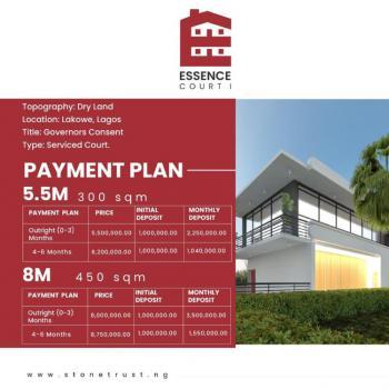 Dry Land Available Inside a Beautiful Estate, Essence Court 1 Lakowe Lakes Golf Resorts, Lakowe, Ibeju Lekki, Lagos, Residential Land for Sale