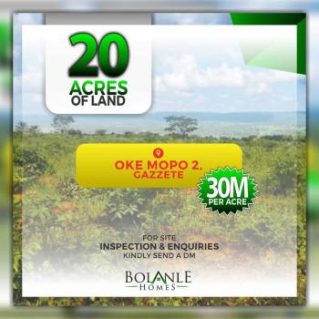 Acres of Land with Gazette in a Good Location, Oke Mopo 2, Okun-ajah, Ajah, Lagos, Land for Sale