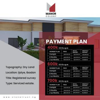 Land, The Manor Colony Ijaye Home Sweet Homes Estate, Ibadan, Oyo, Residential Land for Sale