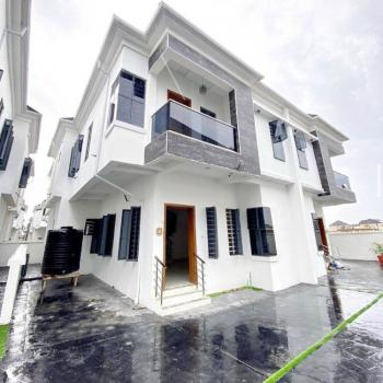 Nicely Built 4 Bedroom Semi Detached Duplex;, Second Toll Gate., Lekki, Lagos, Semi-detached Duplex for Sale
