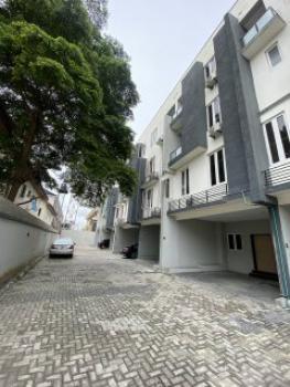 Nicely Built 4 Bedroom Terrace Self Serviced with a Room Bq;, Oniru, Victoria Island (vi), Lagos, Terraced Duplex for Rent
