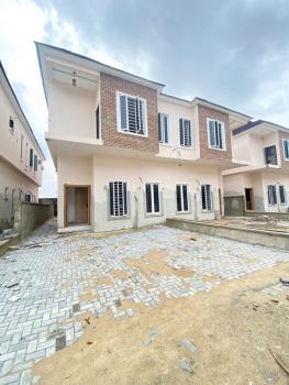 Serviced 4 Bedroom Semi Detached Duplex, Second Toll Gate, Lekki Phase 2, Lekki, Lagos, Semi-detached Duplex for Sale