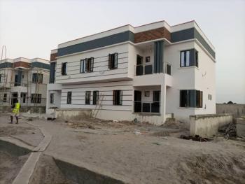 Newly Built 3 Bedroom  Semi Detached Duplex with a Room Bq (carcass), Zylus Court, Bogije, Ibeju Lekki, Lagos, Semi-detached Duplex for Sale