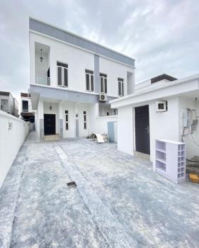 Exquisite 4 Bedroom Semi Detached Duplex with Bq, Chevron, Lekki, Lagos, Semi-detached Duplex for Sale