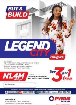 Buy a Plot of Land, Legend City, Opposite New Cattle Garki, Okigwe, Imo, Mixed-use Land for Sale