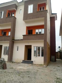 Newly Built 4 Bedroom Duplex with Bq, Ogombo, Ajah, Lagos, Terraced Duplex for Rent