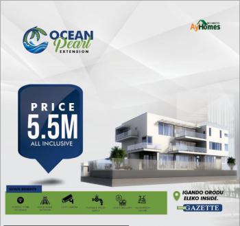 a Beach Front Estate Property in Ibeju Lekki in The Hearbeat of Eleko, Less 5 Mins Drive to Amen Estate Phase 1,few Mins Drive to Eleko Beach, Igando Orudu, Ibeju Lekki, Lagos, Mixed-use Land for Sale