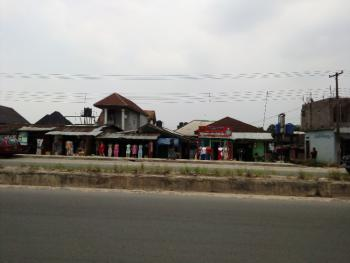 Plot of Land with Shops, Along Airport Road, Rukpokwu, Port Harcourt, Rivers, Detached Bungalow for Sale