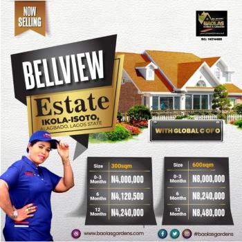 Estate Plots, Bellview Estate, Isoto Ikola, Alagbado, Ifako-ijaiye, Lagos, Residential Land for Sale
