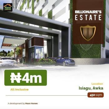 Land, Billionaire Estate, Isiagu, Awka, Anambra, Residential Land for Sale