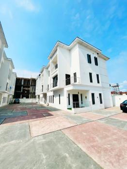 Spacious 4 Bedroom Terrace Duplex with Bq, Osapa, Lekki, Lagos, Terraced Duplex for Sale