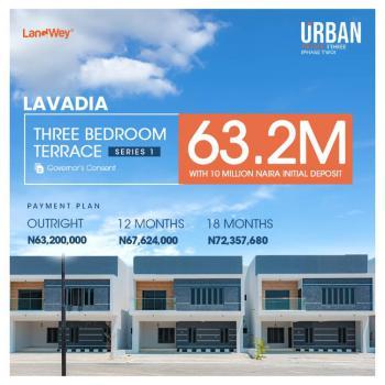 Luxury 3 Bedrooms Terraced Duplex, Urban Prime 3, Ogombo Road, Ajah, Lagos, Terraced Duplex for Sale