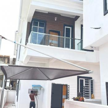 4 Bedrooms Detached Duplex and 1 Bq, Osapa London, Lekki, Lagos, Semi-detached Duplex for Sale