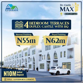 Luxury Estate 4bedroom Terrace Duplexes (governors Consent), Orchid Road, Lekki, Lagos, Terraced Duplex for Sale