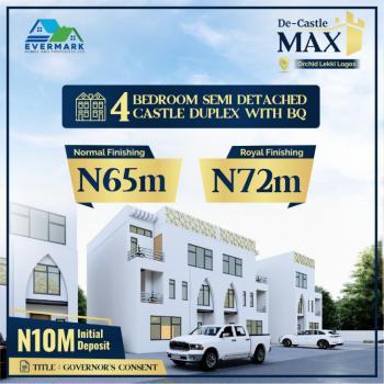 Modern 4 Bedroom Semi-detach Duplexes + Bq (governors Consent), Orchid Road, Lekki, Lagos, Semi-detached Duplex for Sale