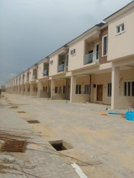 Newly Built 3bedroom Terrace Duplex, in a Well Secured Estate By 2nd Toll Gate, Lekki Phase 2, Lekki, Lagos, Terraced Duplex for Sale