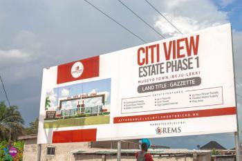Luxury Estate Land (gazette), Museyo Town, Ibeju Lekki, Lagos, Residential Land for Sale