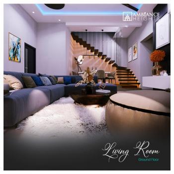 Smart Luxury 3 Bedrooms Maisonette with Bq, Ambiance Heights, Lekki Phase 1, Lekki, Lagos, House for Sale