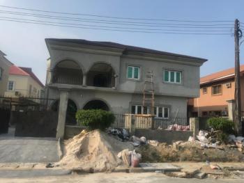 Brown New Remaining Paintings 6 Bedroom Semi Detached Duplex, Crown Estate, Sangotedo, Ajah, Lagos, Semi-detached Duplex for Rent