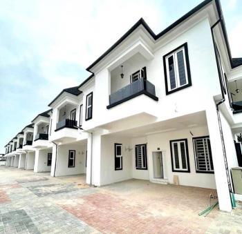 Brand New 4 Bedroom Terrace Duplex, Chevron 2nd Toll Gate, Lekki, Lagos, Terraced Duplex for Rent