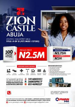 Buy a Plot of Land Zion Castle, Wasa Town, Apo, Abuja, Mixed-use Land for Sale