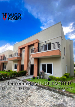 Beautifully Finished 4 Bedroom Semi Detached, Lokogoma, Lokogoma District, Abuja, Semi-detached Duplex for Sale
