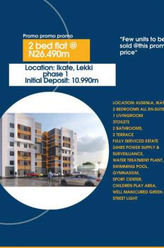 Luxury 2bedroom Flat in a Well Secured Estate, Ikate, Lekki Phase 1, Lekki, Lagos, Block of Flats for Sale