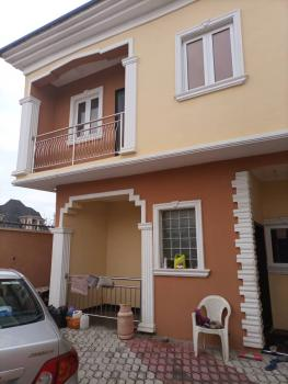 Relatively New 2 Units of  4 Bedrom Duplex (twin Duplex) on 300sqm Land, Divine Estate, Ago Palace, Isolo, Lagos, Detached Duplex for Sale