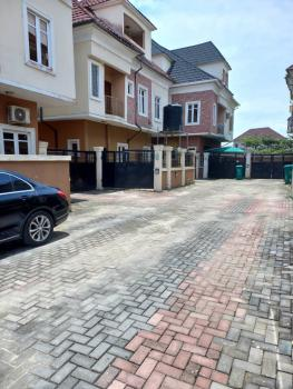 Well Maintained 4 Bedroom Duplex, Gated and Well Secured Estate, Ologolo, Lekki, Lagos, Semi-detached Duplex for Rent