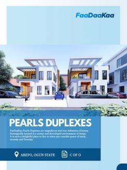 2 Units Luxury Fully Detached Duplex, Berger, Arepo, Ogun, Terraced Duplex for Sale