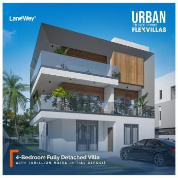 4 Bedroom Fully Detached Villa Luxury Flat with Bq, Abraham Adesanya, Ogombo, Ajah, Lagos, Detached Duplex for Sale