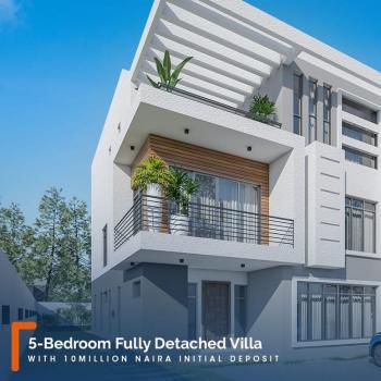 5 Bedroom Villa with Bq, Abraham Adesanya, Ogombo, Ajah, Lagos, Detached Duplex for Sale