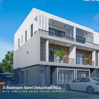 3 Bedroom Semi Detached Duplex with Bq, Abraham Adesanya, Ogombo, Ajah, Lagos, Semi-detached Duplex for Sale