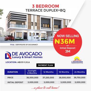 Luxury and Smart 3 Bedroom Terrace Duplex +bq, Abijo Gra, 10 Minutes Drive to Corona International School, Abijo, Lekki, Lagos, Terraced Duplex for Sale