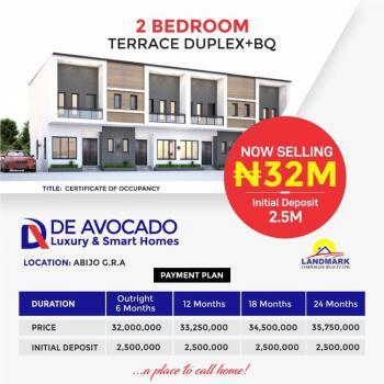 Smart and Luxury 2 Bedroom Terrace +bq, Abijo Gra, Few Minutes to Choice Garden Estate, Abijo, Lekki, Lagos, Terraced Duplex for Sale