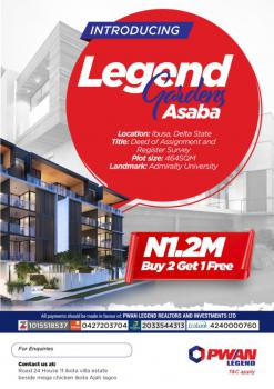 Buy a Plot of Land, Legend Garden, Close to Admiralty Naval University, Ibusa, Asaba, Delta, Mixed-use Land for Sale