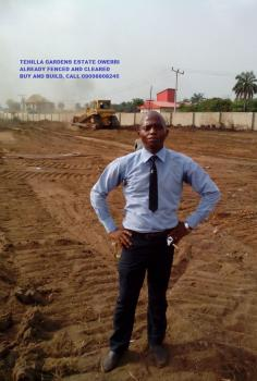 Already Fenced and Cleared Land in Owerri – Tehilla  Gardens Estate. Buy and Build., Along Aba-owerri Road Agbala – Owerri North Lga, Owerri, Imo, Mixed-use Land for Sale
