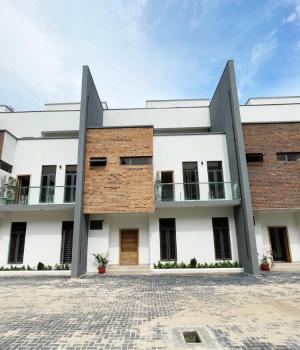 Spacious 4 Bedrooms Terraced Duplex with Bq, Ikate, Lekki, Lagos, Terraced Duplex for Sale