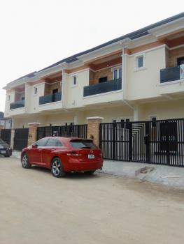 Newly Built 4bedroom Terrace  Duplex with Self Compound, in a Well Secured Estate, Ajah, Lagos, Terraced Duplex for Sale