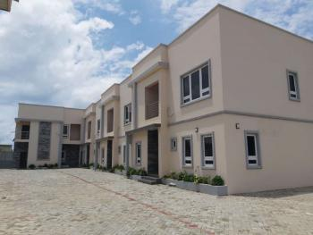 Topnotch Finished 4 Bedrooms Terrace Duplex with a Room Domestic Quarter, Near Suncity Estate By Galadimawa Roundabout, Galadimawa, Abuja, Terraced Duplex for Rent