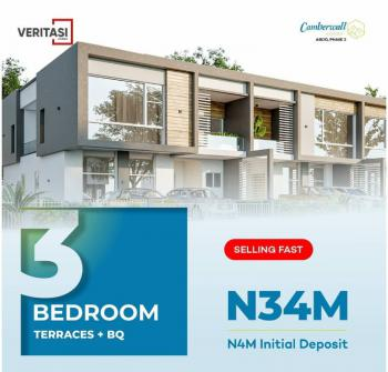 Affordable 3 Bedrooms Terraced Duplex with Bq in a Safe & Secured Estate, Abijo, Lekki, Lagos, Terraced Duplex for Sale