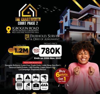 Land, Chartworth Court Phase 2, Okun Imosan, Ibeju Lekki, Lagos, Residential Land for Sale