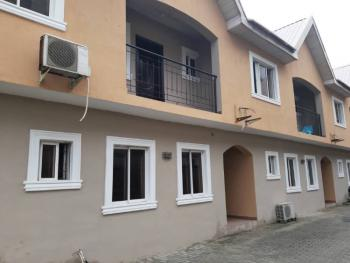 Nice Self Service 4 Bedroom Terrace Duplex with a Room Bq, Illasan, Lekki, Lagos, Terraced Duplex for Rent